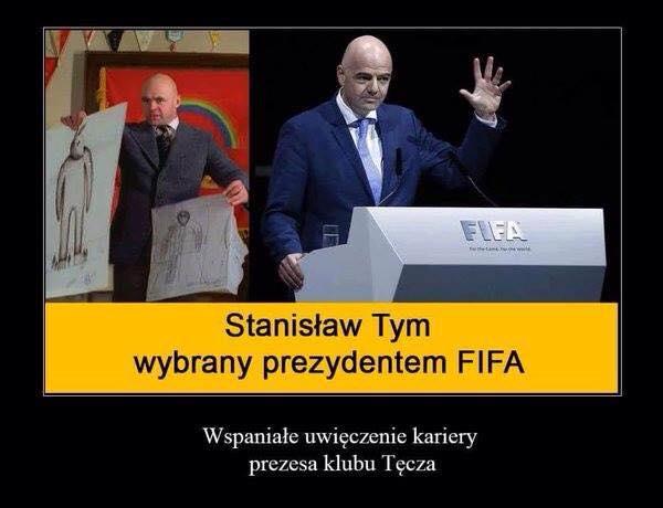 Z klubu Tęcza do FIFA!